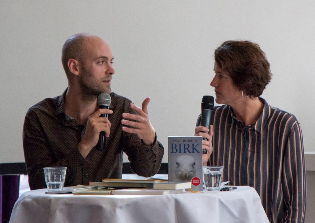 Manon Duintjer interviewt Jaap Robben
